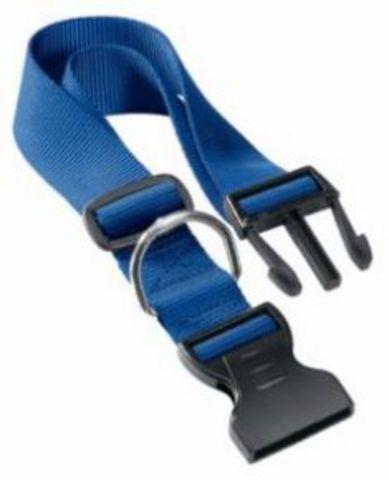 75250925 Ферпласт Ошейник CLUB C10/32 с пластиковым креплением синий/2