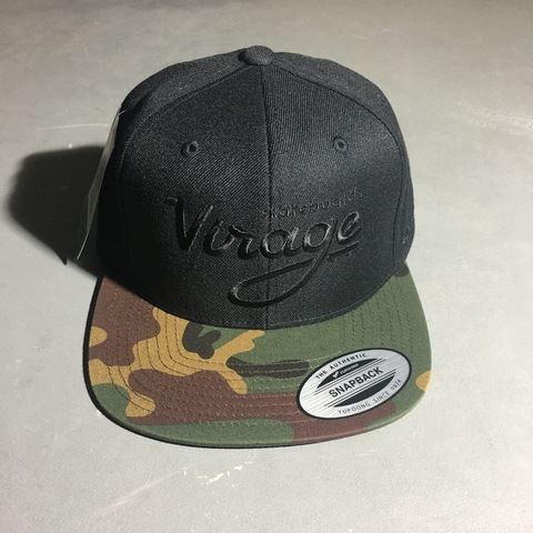 Кепка Virage skateboards logo snapback BLACK/CAMO Размер Универсальный