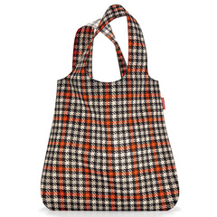 Сумка складная Mini maxi shopper glencheck red Reisenthel