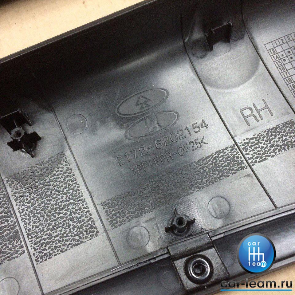 Накладки обивок дверей на Лада Приора 2 (ВАЗ 2170, 2171, 2172) , батоны