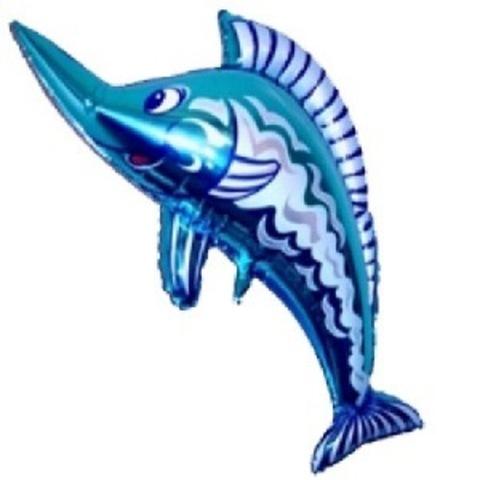 Шар фигура Рыба меч, 48 см