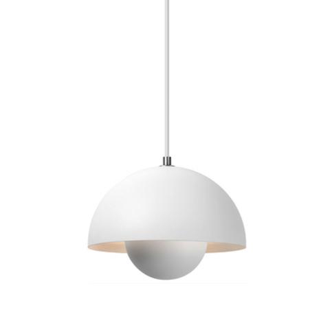 Подвесной светильник копия Flowerpot by Verpan Panton (белый)