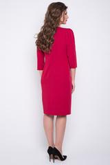 <p>Идеальное платье для повседневной носки. Удобное, комфортное и красивое. Такая модель подчеркнет Вашу талию и удлинит ноги. По спинке замок, рукав 3/4.&nbsp;(Длина: 46-50=100см; 52-54=102см)&nbsp;</p>