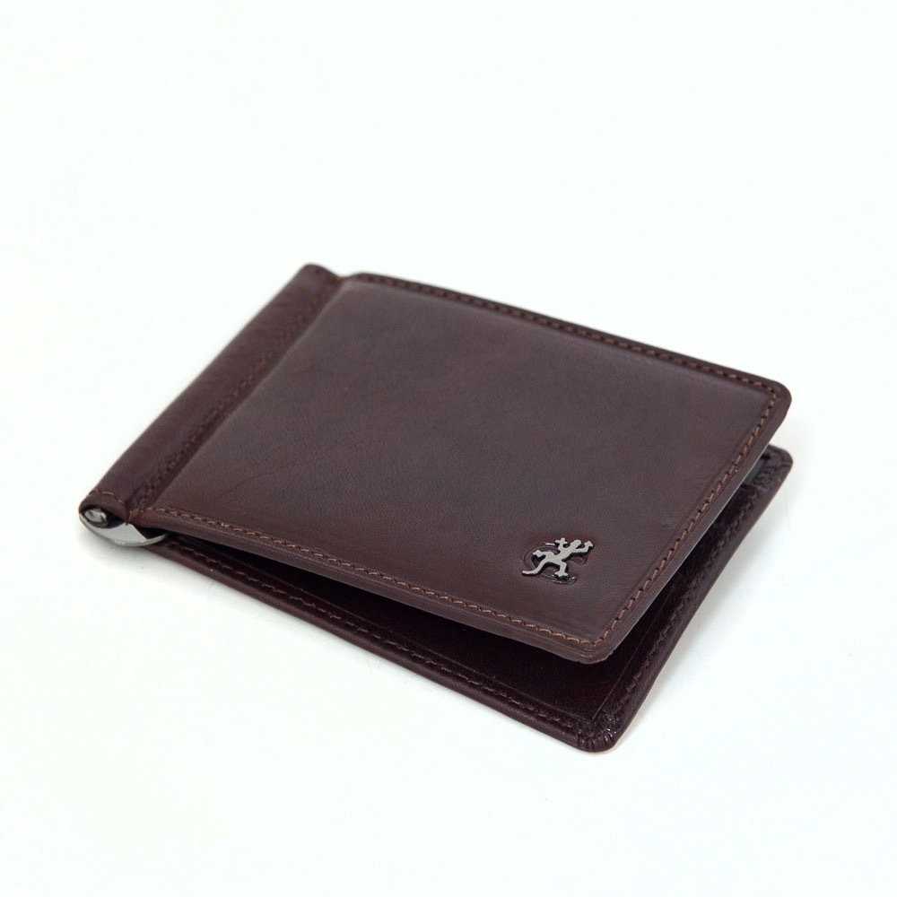 Мужской кожаный зажим для денег Cosset C32-167-1782