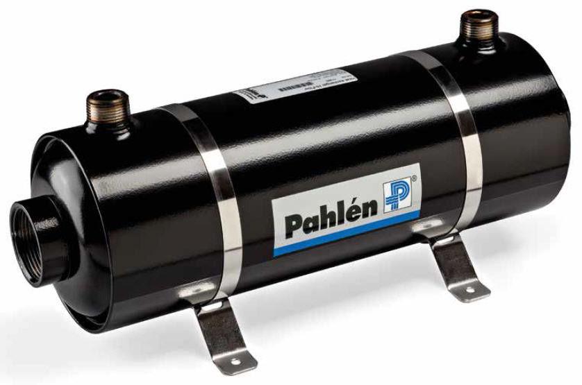 Теплообменник для бассейна (40 кВт) (гориз.) Pahlen HF40