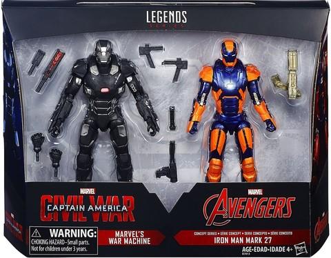 Марвел Легенд набор фигурок Железный человек и Воитель