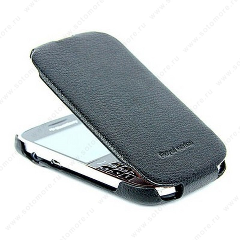 Чехол-флип HOCO для BlackBerry Bold 9900 - HOCO Leather Case Black