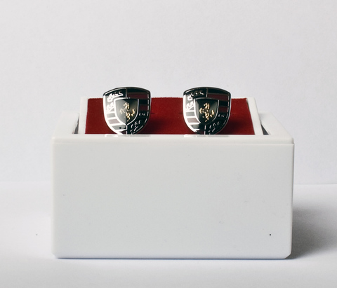 Запонки Angelo Roma белого металла
