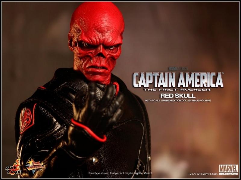 The First Avenger Captain America : Red Skull