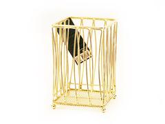 8934 FISSMAN Gold Подставка для кухонных инструментов