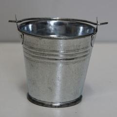 Ведро металлическое неокрашенное, 1 шт.
