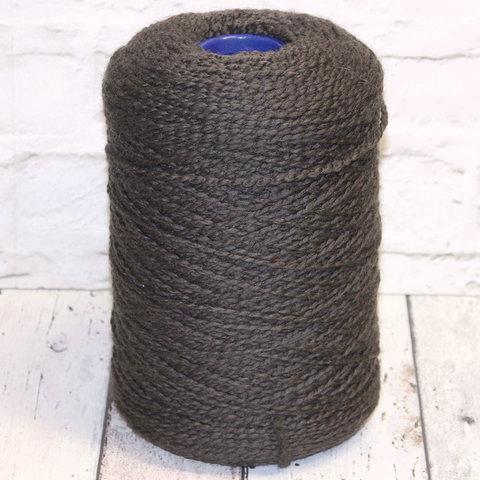 Меринос фасонный 100 серо-коричневый