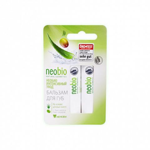 Neobio, Бальзам для губ, 9.6мл