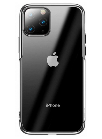 Чехол Baseus Shining Case For iPhone 11 Pro Max, Серебристый
