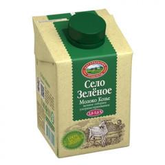 Молоко Село Зеленое питьевое козье ультрапастеризованное 3.2% 500 г