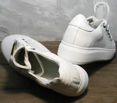 Стильные кроссовки для девушек Molly shoes 557 Whate
