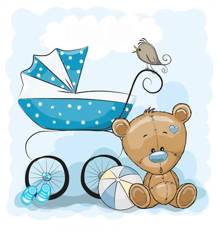 Печать на вафельной бумаге, С Новорожденным 1