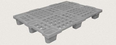 Поддон полимерный перфорированный 1200x800x150 мм. Цвет: Серый