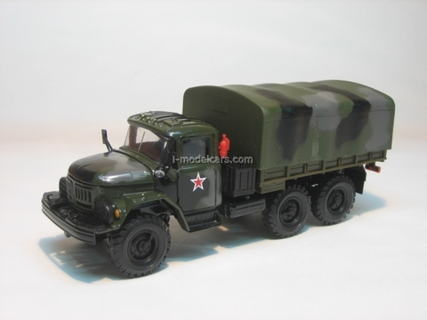 ZIL-131 with awning summer camouflage Elecon 1:43