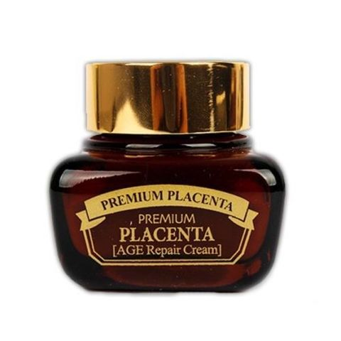 3W CLINIC Крем для лица с плацентой Premium Placenta Age Repair Cream, 50 мл