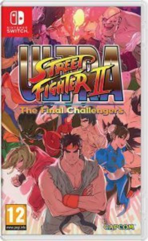 NS: ULTRA STREET FIGHTER II: The Final Challengers (английская версия)