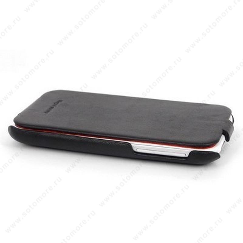 Чехол-флип HOCO для HTC Sensation XL - HOCO Leather Case Black