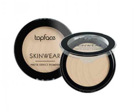 Topface Пудра матовая Skinwear Matte Effect тон 03, бежевый- РТ265 (10 г)
