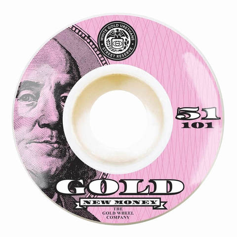 Колёса GOLD WHEELS New Money (Pink) 101A