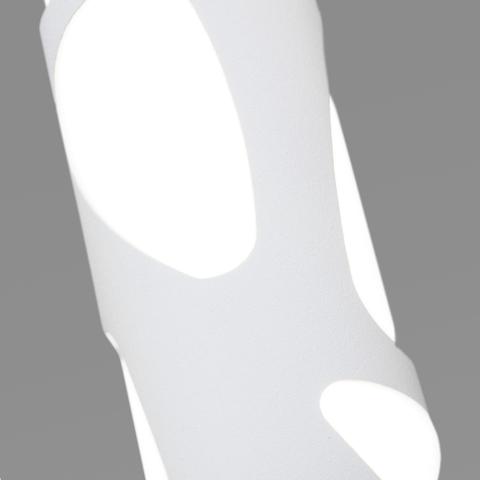 Подвесной светодиодный светильник DLR037 12W 4200K белый матовый