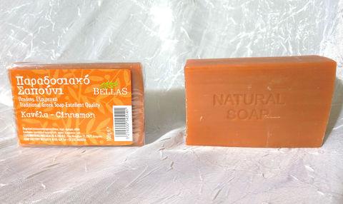 оливковое мыло с корицей Bellas