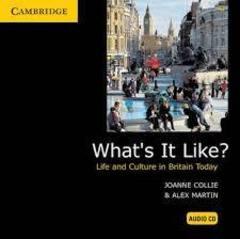 What's It Like?  Audio CD