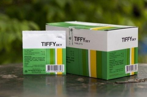 Таблетки против простуды и гриппа Tiffy Dey