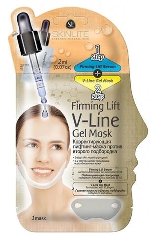 SL-266 Корректирующая лифтинг-маска против второго подбородка 1 шт. (Skinlite)