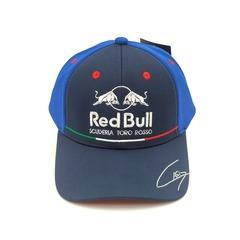 Кепка с вышитым логотипом Астон Мартин Ред Булл Формула 1 (Бейсболка Aston Martin Red Bull scuderia toro Rosso F1) комбинированная