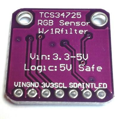 Модуль распознавания цвета с ИК-фильтром TCS34725