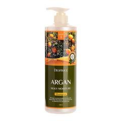 Deoproce Argan Silky Moisture Shampoo - Шампунь для волос с аргановым маслом