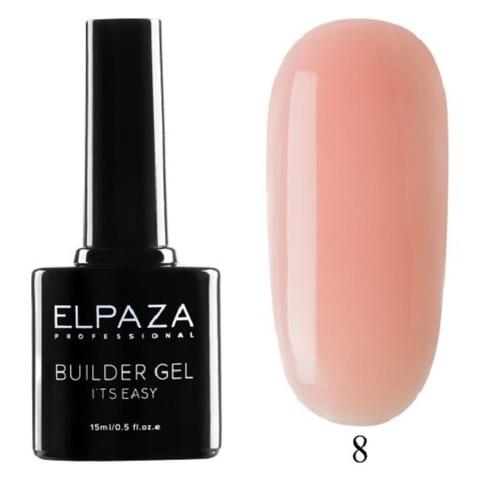 Моделирующий гель Builder Gel it's easy Elpaza, 15ml - 8