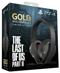 PS4 Гарнитура беспроводная Gold Wireless Headset The Last Of Us Part II (CUHYA-0080: SCEE)