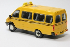 GAZ-3221 Gazelle Route Taxi early facing Agat Mossar Tantal 1:43