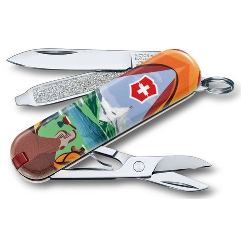 Нож перочинный Victorinox Classic (0.6223.L1802) Call of Nature 58мм 7функций