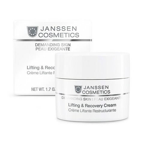 Восстанавливающий крем Lifting And Recovery Cream, Demanding Skin, Janssen Cosmetics, 50 мл