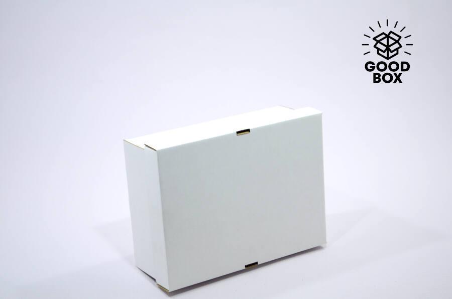 Крафт коробка полностью белая купить в Казахстане с доставкой