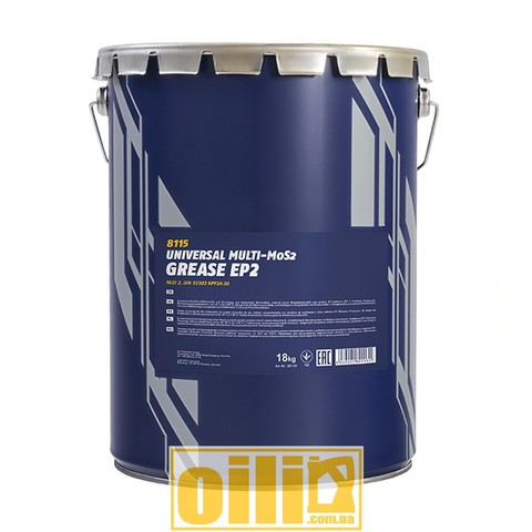 Mannol 8115 EP-2 Multi-MoS2 GREASE 18kg