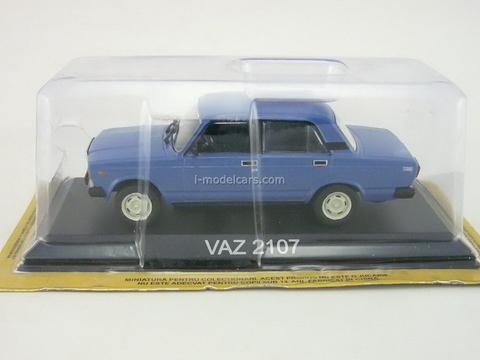 VAZ-2107 blue 1:43 DeAgostini Masini de legenda #33