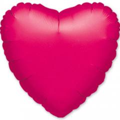 Шар сердце фольгированное 46 см