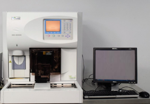 Дифференциальный гематологический анализатор XE-5000, Sysmex