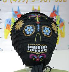 Пиньята череп Black