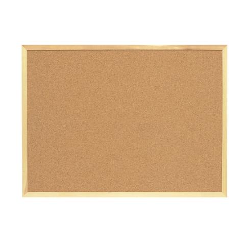 Доска пробковая Attache Economy 100х150 см деревянная рама