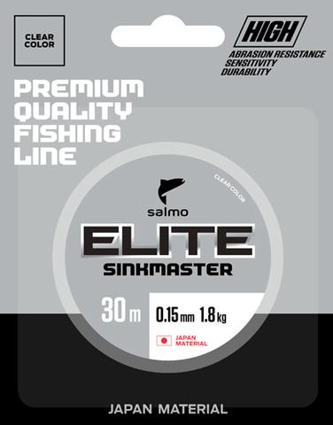 Леска монофильная зимняя Salmo Elite SINKMASTER 30м, 0.12мм