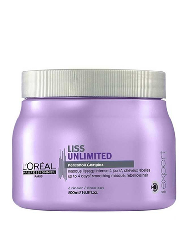Маска для непослушных волос, Loreal Professional Liss Unlimited,500 мл.